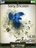 تم آبی زیبا سونی اریکسون کا 790