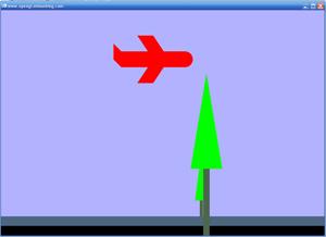 پروژه دو بعدی ساده گرافیک کامپیوتری